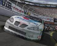 The Nascar Thunder 2004 racing video game for Microsoft's Xbox console lets you put the pedal to the metal!
