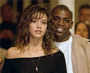 Mekhi Phifer has the hots for Jessica Alba in the dance movie, Honey.