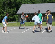Four Square is a great playground sports game and activity for kids.