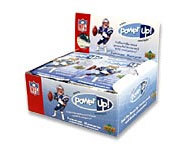 You can win free prizes and other sports collectibles by collecting Upper Deck's Power Up! Football trading cards.
