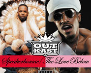 Andre 3000 and Big Boi make up the hip-hop group Outkast.