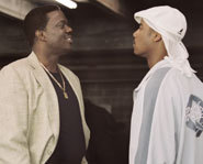 Pictures of Bernie Mac in the comedic baseball movie, Mr. 3000.