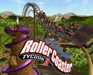 Download a free video game demo of the RollerCoaster Tycoon 3 computer game from Atari.