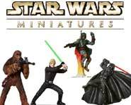 Battle with Star Wars villains and heroes in the Star Wars: Rebel Storm collectible miniature strategy game.