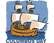 Columbus Day is observed on the second Monday of October in the United States.