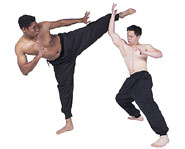 Karate is a great martial art for kids to practice physical strength, build self confidence and reduce stress.