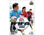 Get the free PC video game demo of FIFA 2005 soccer!