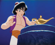 In the mood for a romantic and magical story? Why not grab Aladdin on DVD?