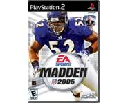 Get these PS2 cheat codes for EA's Madden NFL 2005 football video game and kick butt!
