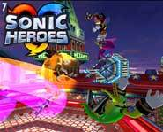 Get a free PC game demo download of Sonic Heroes from Sega!
