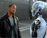 Pictures from the movie I, Robot starring Will Smith.
