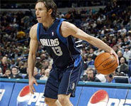 Picture of NBA point guard, Steve Nash.