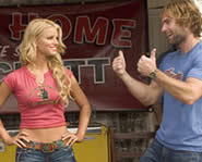 Johnny Knoxville, Jessica Simpson and Seann William Scott star in the Dukes of Hazzard.