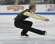 Photo of US figure skater,Timothy Goebel.