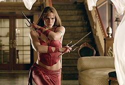 Jennifer Garner kicks butt in her new flick Elektra!