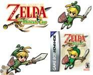 Save Princess Zelda as the heroic Link in The Legend of Zelda: The Minish Cap for the Gameboy Advance!
