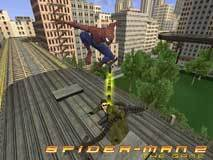 Spider-Man takes on Doc-Ock in Spider-Man 2 for the Nintendo DS.