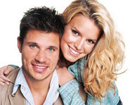 Jessica Simpson and Nick Lachey star in MTV Newlyweds: Nick and Jessica, now out on DVD.