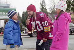 Ice Cube stars in the new movie, Are We There Yet?