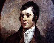 Scottish poet, Robbie Burns, loved his haggis.