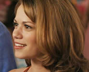 Bethany Joy Lenz plays Haley James on One Tree Hill.