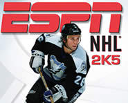 Get your hockey fix by playing ESPN NHL 2K5 on Xbox.