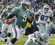 Picture of Philadelphia Eagles' quarterback, Donovan McNabb.