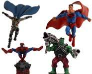 Get the scoop on battling Marvel and DC superheroes in the HeroClix game from Wizkids!