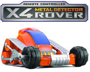 Picture of the X4 Metal Detector Rover from Uncle Milton Toys.