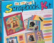 Organize your photos with the It's My Life Scrapbook Kit.