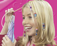 Get a cool new hair style with the Girl Crush Magic Hair Beader.