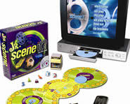 Jr. Scene It is a great entertainment trivia game for the whole family!