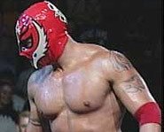 Picture of professional wrestler, Rey Mysterio.