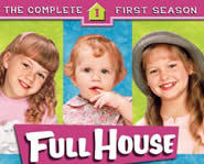 The Olsen twins star in their first roles on Full House.