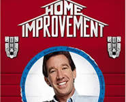 Tim Allen stars in his own show, Home Improvement..