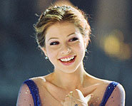 Michelle Trachtenberg, stary of the Disney flick Ice Princess, stopped by to chat with Sindy.