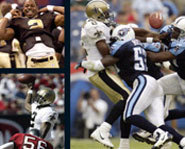 Aaron Brooks of the New Orleans Saints writes about overcoming life's challenges in Rise Above.