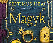 Septimus Heap is book one of the new Magyk series from Angie Sage.