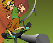 Simon blogs about his skateboarding wipeout in his free online teen journal.