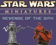 We have a sneak peek of six new figures from the Star Wars Miniatures: Revenge of the Sith game right here!