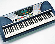 A keyboard is a great alternative to a real piano.