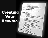 Get help creating your resume, even if you don't have a ton of work experience!
