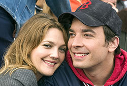 Jimmy Fallon and Drew Barrymore star in the romantic comedy, Fever Pitch.