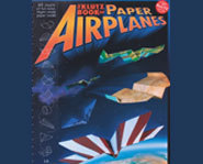 The Klutz Book of Paper Airplanes has pictuers, designs and plans for how to build a paper airplane.