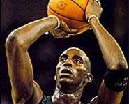 Kevin Garnett of the Minnesota Timberwolves is one of the NBA's best all around basketball players.