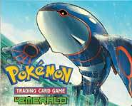 Here's the scoop on the Pokemon EX Emerald expansion set for the Pokemon card game!