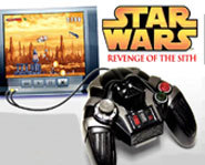 The Star Wars: Revenge Of the Sith Plug and Play systems features five Star Wars video games.