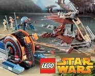 Battle the Seperatist droid army on Kashyyk with the LEGO Star Wars Wookie Attack kit!