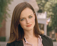 Alexis Bledel plays Rory Gilmore on The Gilmore Girls and also stars in the movie,  The Sisterhood of the Traveling Pants.
