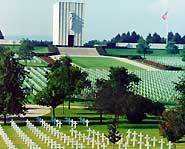 Picture of World War II Lorraine American Cemetery and Memorial.